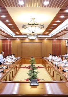 Bộ Chính trị làm việc với các địa phương về công tác chuẩn bị Đại hội Đảng bộ nhiệm kỳ 2020-2025