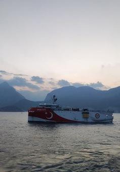 Thổ Nhĩ Kỳ tập trận bắn đạn thật tại Địa Trung Hải