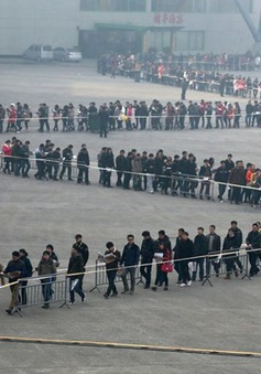 Giới trẻ Trung Quốc chật vật tìm việc làm sau dịch