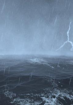 Biển Đông hình thành vùng áp thấp mới, nhiều vùng biển gió giật mạnh