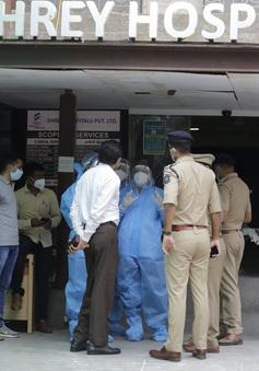 Cháy bệnh viện tại Ấn Độ, 8 bệnh nhân COVID-19 thiệt mạng
