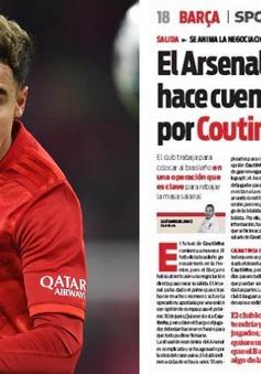 Thương vụ Coutinho: Arsenal và Barcelona chỉ còn khúc mắc ở vấn đề tiền lương!