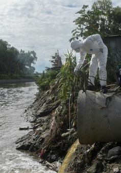 Nepal truy vết ổ dịch nhờ phát hiện con sông ô nhiễm