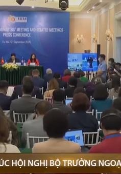 Họp báo quốc tế kết thúc Hội nghị Bộ trưởng Ngoại giao ASEAN 53