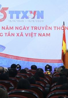 Thủ tướng dự Lễ kỷ niệm 75 năm Ngày thành lập Thông tấn xã Việt Nam