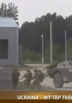 Ucraina- Mỹ tập trận