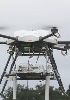 Thiết bị bay không người lái cung cấp sóng di động trong thảm họa