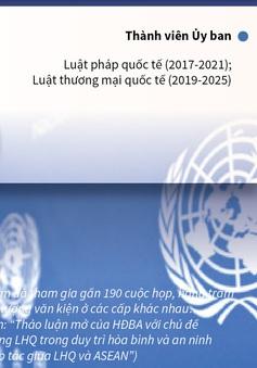 [INFOGRAPHIC] Việt Nam khẳng định vai trò chủ động, tích cực tại Liên Hợp Quốc