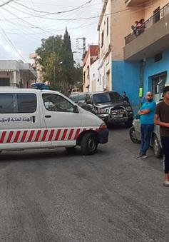 Nổ tại kho vũ khí quân sự ở Lebanon
