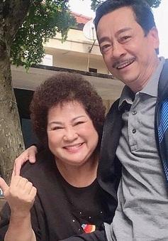 NSND Hoàng Dũng hội ngộ NSƯT Minh Vượng trên phim trường