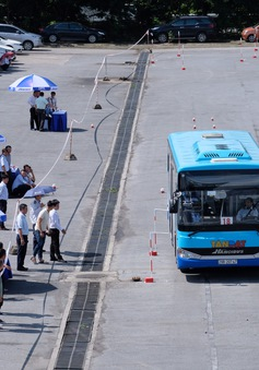 Nâng cao tay nghề từ hội thi lái xe bus giỏi, an toàn 2020