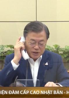 Nhật- Hàn điện đàm lần đầu sau khi Nhật Bản có Thủ tướng mới