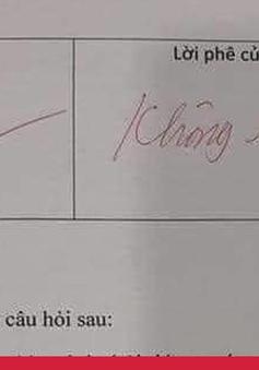 Tin nóng đầu ngày 26/9: Giáo viên tiểu học được chấm điểm 0 từ 20/10