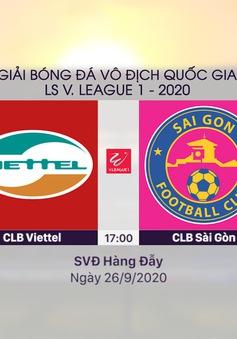 VIDEO Highlights: CLB Viettel 1–0 CLB Sài Gòn (Vòng 12 V.League 2020)