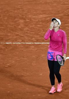 Simona Halep thắng ấn tượng ở vòng đấu mở màn Pháp mở rộng 2020