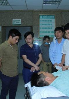 2 cán bộ công an bị đâm trọng thương khi vây bắt đối tượng ma túy