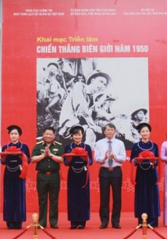 Triển lãm ảnh 70 năm Chiến thắng Biên giới 1950