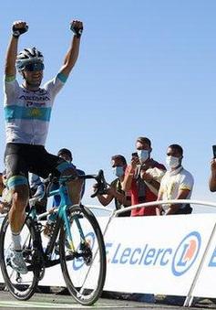 Tay đua Alexey Lutsenko về nhất chặng 6 Tour de France