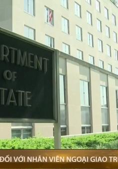 Mỹ siết chặt quyền đi lại của nhân viên ngoại giao Trung Quốc