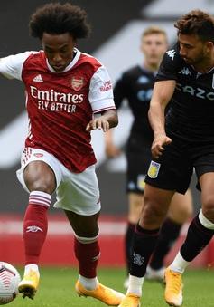 Arsenal: Willian, Ozil góp mặt, Auba lập cú đúp trong thất bại 2-3 trước Aston Villa