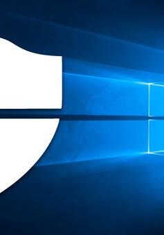Bản cập nhật biến trình diệt virus mặc định trên Windows 10 thành công cụ phát tán mã độc