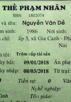 Truy nã phạm nhân nhiễm HIV trốn khỏi Bệnh viện Đa khoa Bình Thuận