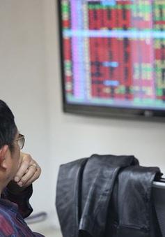 """Các  nhà đầu tư thận trọng, thị trường chứng khoán trong nước """"nhuộm sắc đỏ"""""""