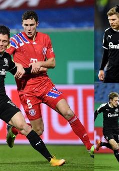 Cúp Quốc gia Đức: Bayern Munich bị loại bởi đội bóng hạng 2