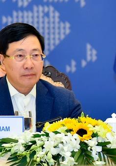 ASEAN tiếp tục đẩy mạnh xây dựng Cộng đồng, ứng phó với COVID-19