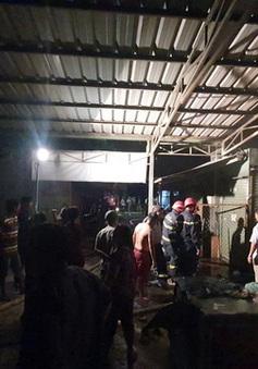Hỏa hoạn thiêu rụi 2 kiot ở chợ Biên Hòa (Đồng Nai)