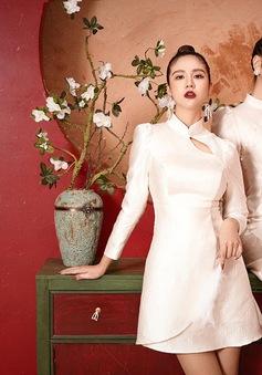 Mai Ngọc, Huyền Lizzie đẹp hút hồn trong trang phục áo dài cách tân