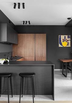 Chiêm ngưỡng căn hộ tinh tế, sang trọng nhờ sử dụng màu đen