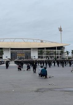 Bảo vệ tuyệt đối an ninh, an toàn Ðại hội XIII của Ðảng