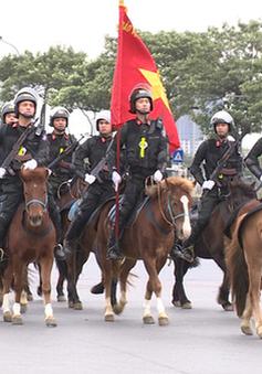 VIDEO: Hơn 4.000 cán bộ chiến sĩ diễn tập bảo vệ an ninh, an toàn Đại hội Đảng XIII