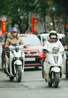 Muôn kiểu chống rét của người Hà Nội trong đợt rét đậm nhất đầu mùa
