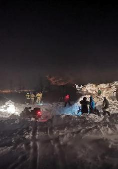 Lở tuyết ở Nga, nhiều người thương vong