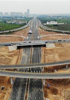 Khánh thành nút giao 400 tỷ đồng nối đường vành đai 3 với cao tốc Hà Nội - Hải Phòng