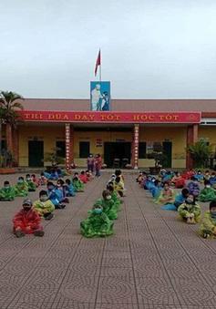 75 học sinh mầm non Hải Dương hết cách ly, về nhà ăn Tết