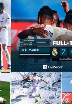 Real Madrid thắng thuyết phục Valencia, vươn lên ngôi nhì bảng La Liga