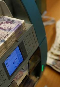 Đồng bảng Anh tăng lên mức cao nhất trong gần một năm qua