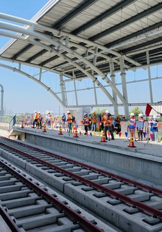 Thi công hệ thống cấp điện toàn tuyến metro Bến Thành - Suối Tiên