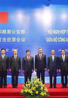 Việt Nam - Trung Quốc đẩy mạnh hợp tác phòng, chống tội phạm