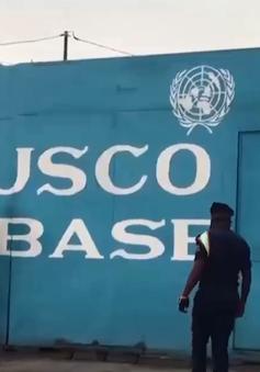 Đoàn xe Liên Hợp Quốc bị tấn công