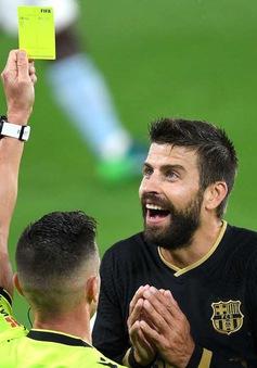 Pique tố trọng tài La Liga đều thân Real Madrid