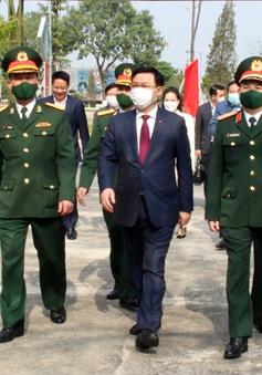 Bí thư Thành ủy Hà Nội Vương Đình Huệ đến chúc Tết cán bộ, chiến sĩ Sư đoàn Bộ binh 301
