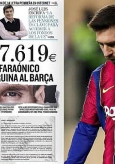 Giờ vàng thể thao hôm nay: Bí mật hợp đồng của Messi và chuyện ngoại binh lớn tuổi Daisuke Matsui