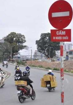 Báo động tình trạng đi ngược chiều gây mất an toàn giao thông