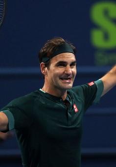 Roger Federer tiến vào tứ kết Qatar mở rộng 2021