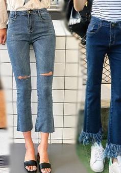 Thúy Mai Store bật mí bí quyết chọn quần jean siêu chuẩn cho các cô nàng nấm lùn