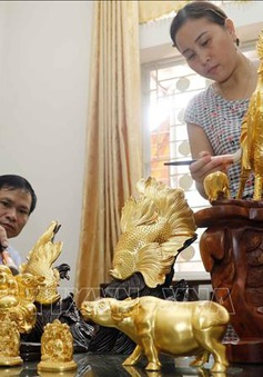 Nghề quỳ vàng Kiêu Kỵ được vinh danh là Di sản văn hóa Phi vật thể Quốc gia